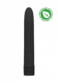 "7"" Vibrator - Biodegradable - Black"