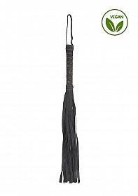 Denim Flogger - Roughend Denim Style - Black