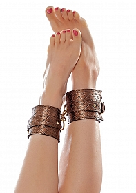 The Infatuation Ankle Cuffs - Bronze