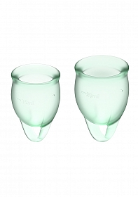 Feel Confident Menstrual Cup - Light green