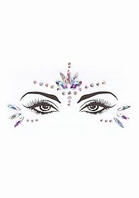 Dazzling Eye Contact Bling Sticker