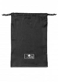 Le Desir Satin Bag - Black