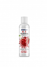 Playful 4 in 1 Lubricant with Poppin Wild Cherry Flavor - 30ml