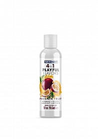 Playful 4 in 1 Lubricant with Wild Passion Fruit Flavor - 30ml