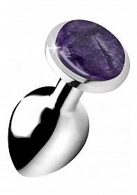 Gemstones Amethyst Gem Medium Anal Plug