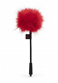 Sweet Anticipation Faux Feather Tickler - Red