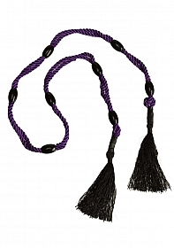 Black Rose Multi-Position Beaded Rope