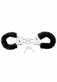 Beginner's Furry Cuffs - Black