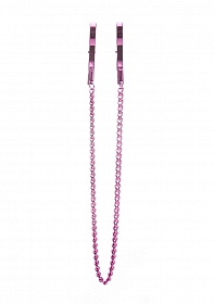 Pincers Nipple Clamps - Pink