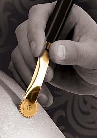 Wartenberg Wheel - Gold
