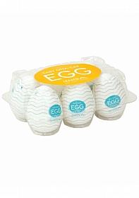Egg - Wavy - 6 Pack