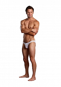 Brazilian Pouch Bikini - White