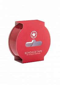 Non Sticky Bondage Tape - 17,5 Meter - Red