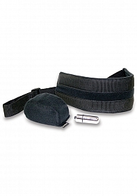 Vibrating Doggie Style Strap with hump and vibe