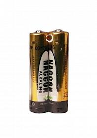 Naccon Alkaline LR03 Battery AAA - 2 pack