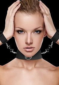 Collar with Cuffs - Black