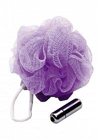 Mesh Sponge - Vibrating - Purple