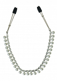 Pearl Chain Nipple Clips