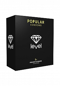 Level Popular Condoms - 5x
