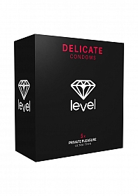 Level Delicate Condoms - 5x