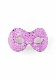 Diamond Moulded Mask - Purple