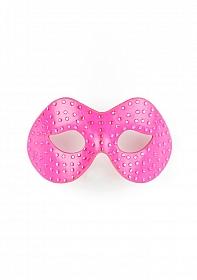 Diamond Moulded Mask - Pink