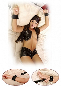 Bed Bindings Restaint Kit - Black