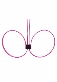 Zip Tie Cuffs - Extended - Pink