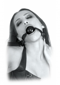Beginner's Ball Gag Black