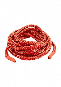 Japanese Silk Love Rope 3 meter - Red