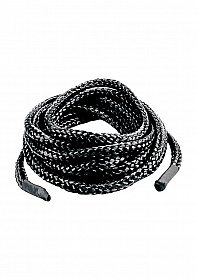 Japanese Silk Love Rope 3 meter - Black
