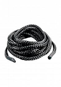 Japanese Silk Love Rope 5 meter - Black