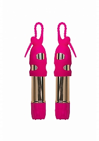 Seduce Me Nipple Vibrators - Pink