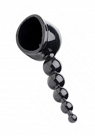 Thunder Beads Anal Wand Attachment - Black