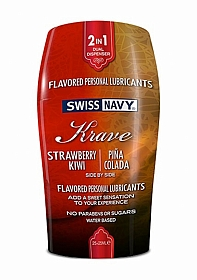 Krave 2-in-1 - Strawberry Kiwi & Pina Colada - 2x25 ml