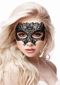 Princess Black Lace Mask  - Black