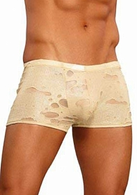 Lo Rise Pouch Short - Gold