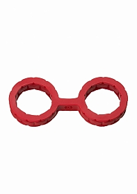 Silicone Cuffs - Small - Red