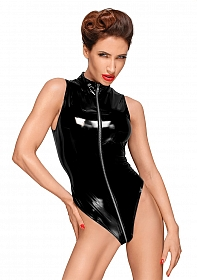 High cut PVC body  - Black