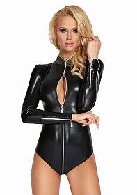 CAMACARI Wetlook Long Sleeve Body - Black