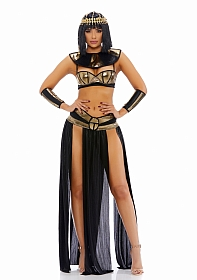 Pharaoh To You Sexy Cleopatra Costume - Gold