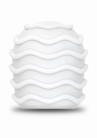 Le Wand - Spiral Texture Cover - White