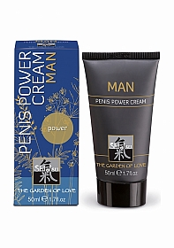SHIATSU Penis power cream for man - 50 ml