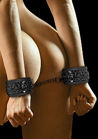 Luxury Hand Cuffs - Black