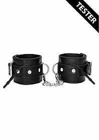 Electro Shock - Electro Handcuffs - Black - Tester