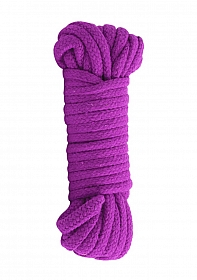 Cotton Bondage Rope Japanesse - Purple