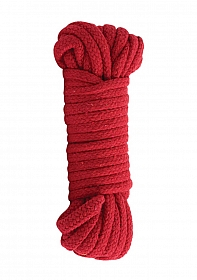 Cotton Bondage Rope Japanesse - Red