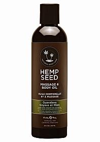 Guavalava Massage Oil with Guava Blackberry Scent- 8oz / 237ml