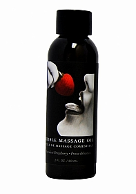 Strawberry Edible Massage Oil -- 2 oz
