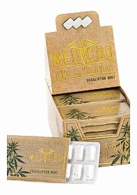 MediCBD - Eucaliptus Mint CBD Chewing Gum 12-pack - Display - 24